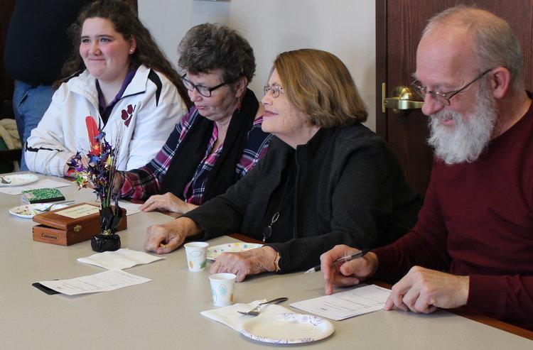 Marty Herzog, Helen Lounsbury, Becky Waldemaier, and Laura Simpson