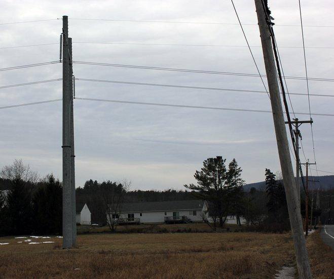Power Lines In Backyard