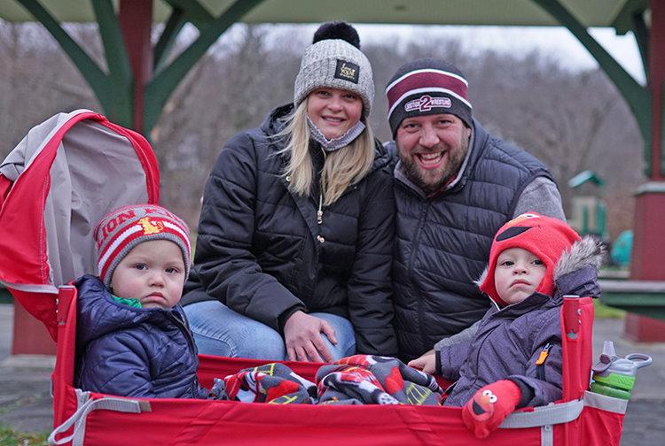 The Hulslander family