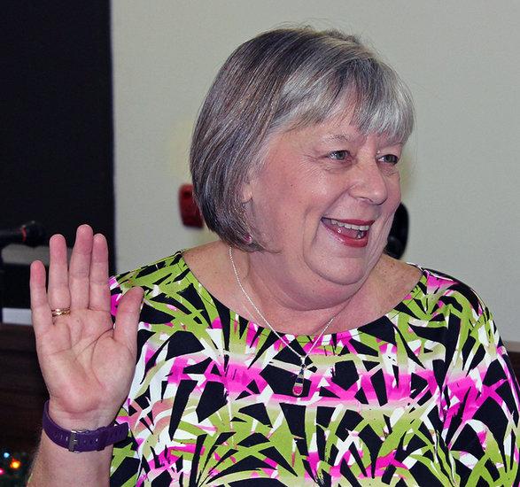 New Scotland Town Clerk Diane Deschenes