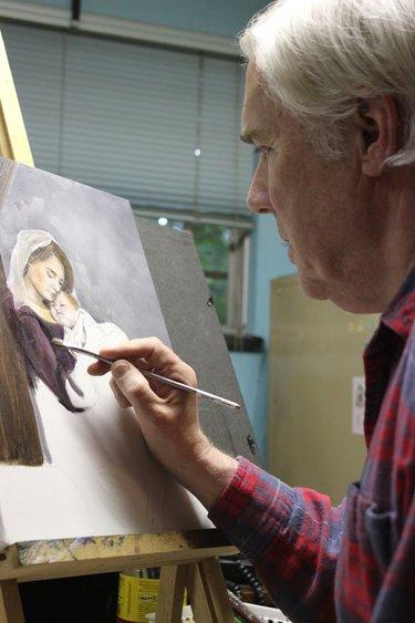 La Salette Artist Exhibits His Work The Altamont Enterprise