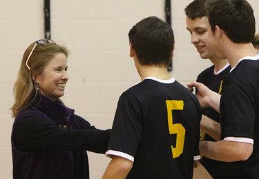 Voorheesville volleyball captains