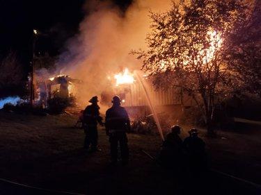 Pangburn Road fire