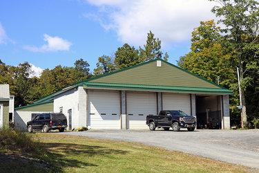 four-bay garage