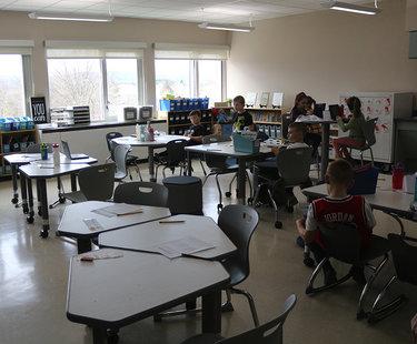 Berne-Knox-Westerlo classrooms