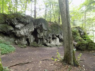 tufa bedrock