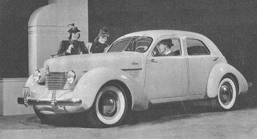 A 1939 Hupmobile