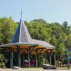 Albany County Helderberg-Hudson Rail Trail pavilion